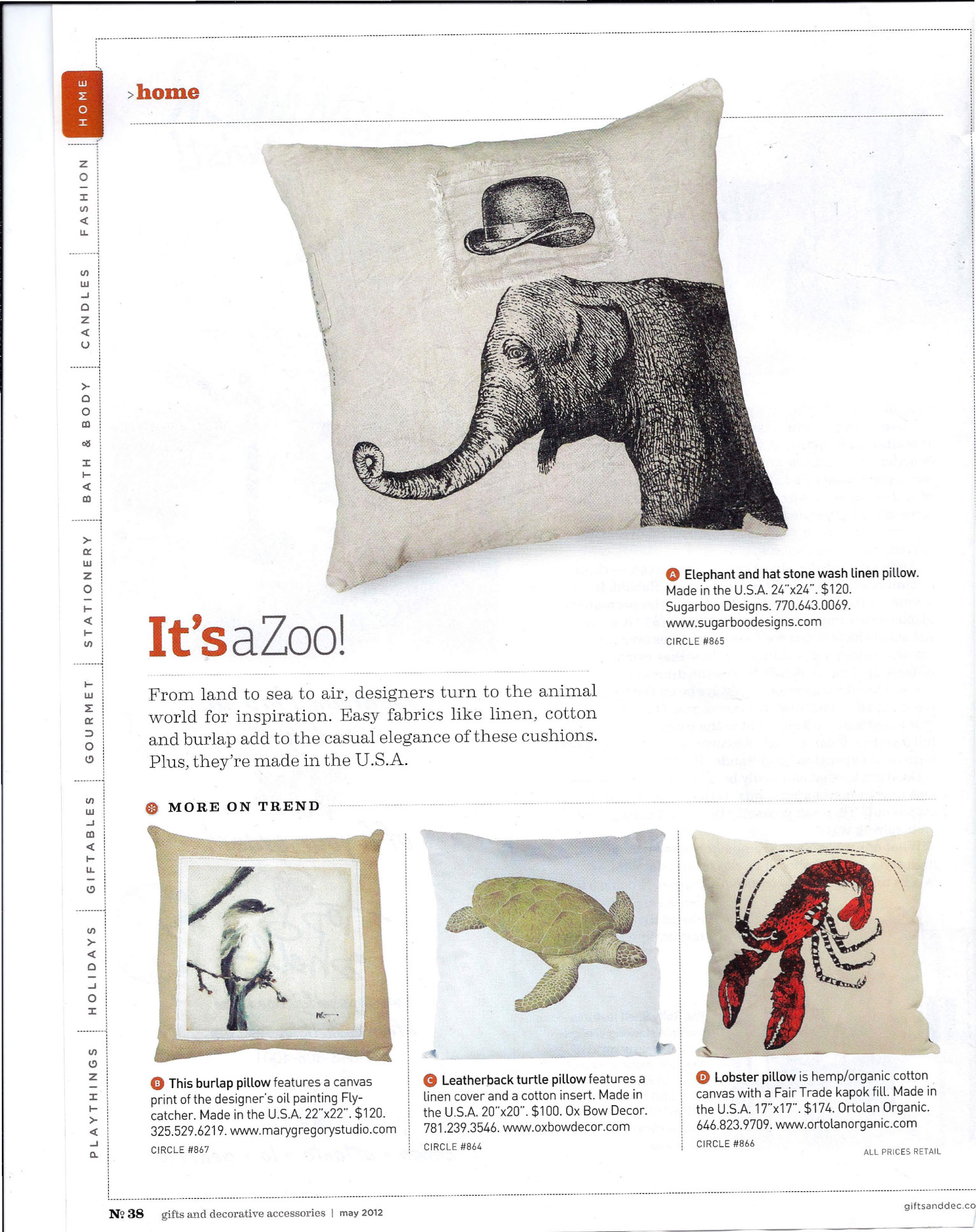 Gifts & Decorative Accessories - May 2012